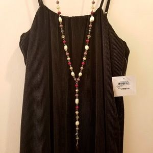 47cc8f0a3f bp Dresses - BP Black Ribbed Midi Slip Dress
